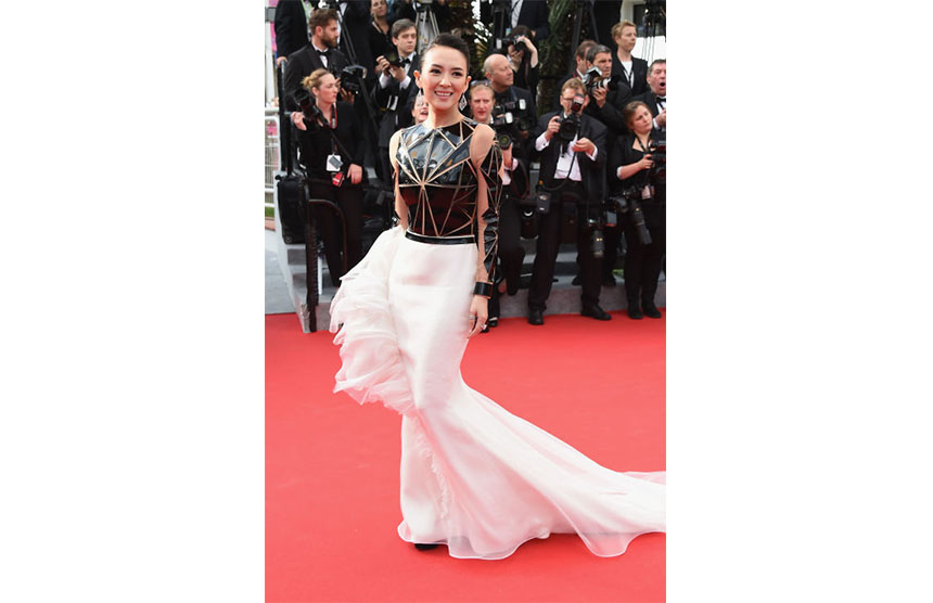 Zhang Ziyi in Stephane Rolland Couture 2014