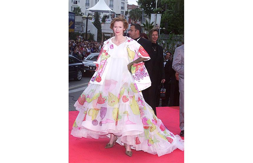 Tilda Swinton In Christian Dior 2001