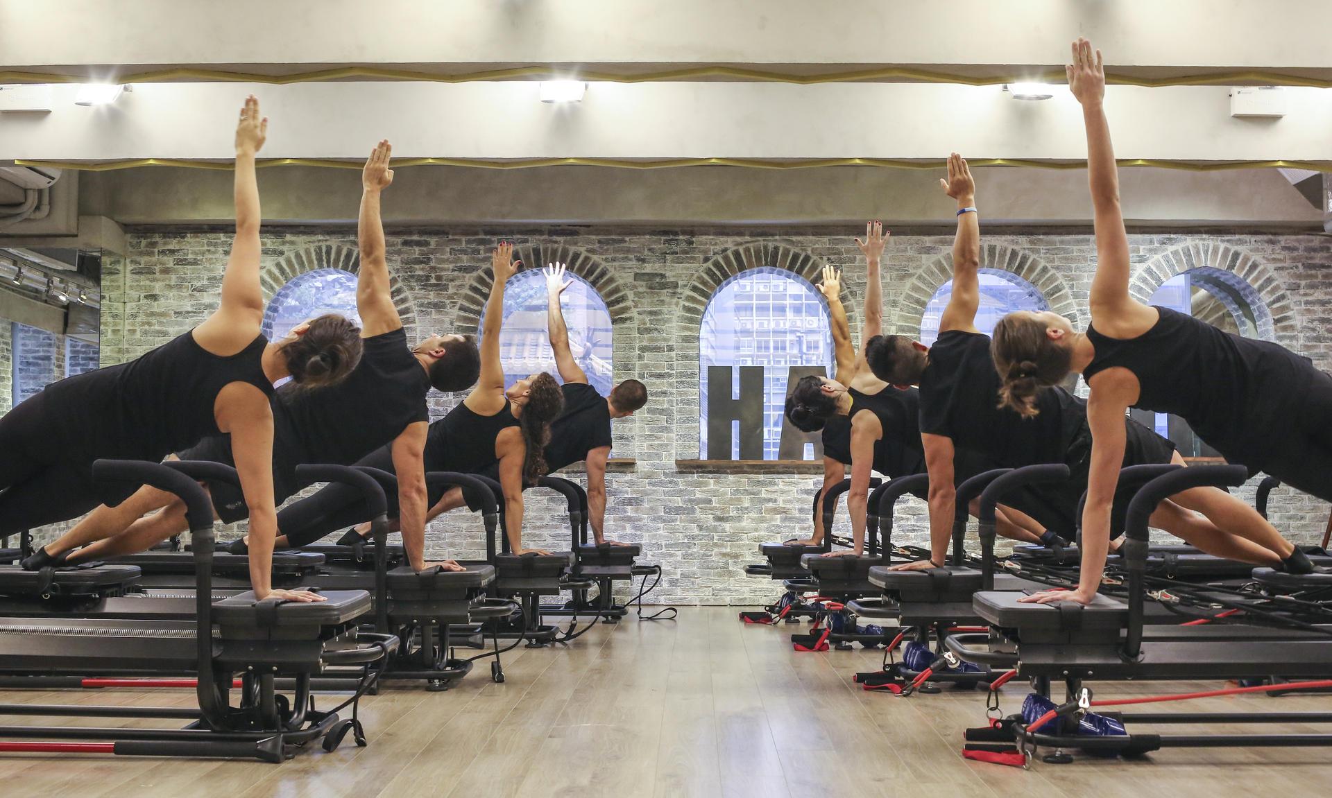 A Lagree Fitness class at H-Kore Gym in Hong Kong / Photo: South China Morning Post