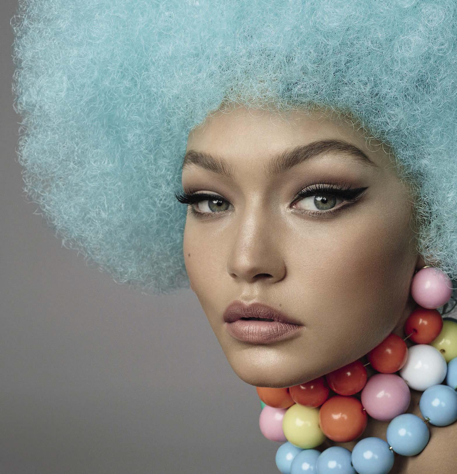 Gigi Hadid by Steven Meisel for Vogue Italia, November 2015 / Make-up: Pat McGrath