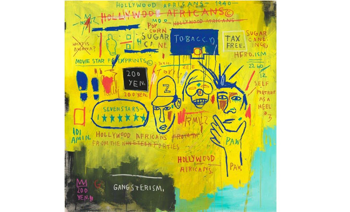 Jean-Michel Basquiat, Hollywood Africans, 1983 / Courtesy Whitney Museum of American Art © Artists Rights Society (ARS), New York / Photo: ADAGP, Paris