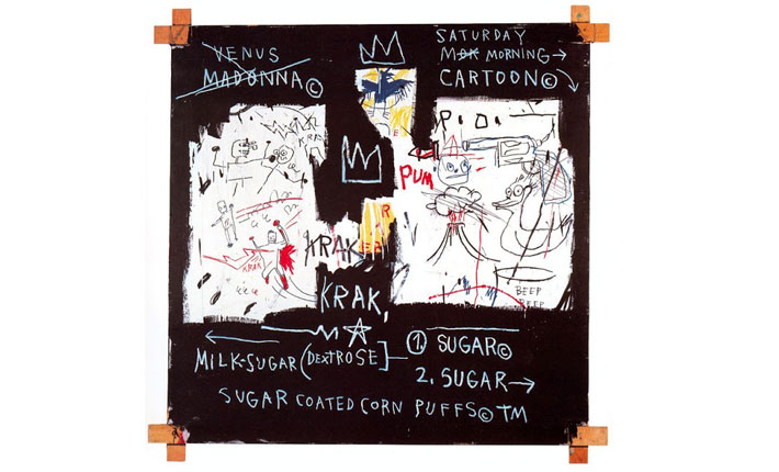 Jean-Michel Basquiat, A Panel of Experts, 1982 / Courtesy The Montreal Museum of Fine Arts