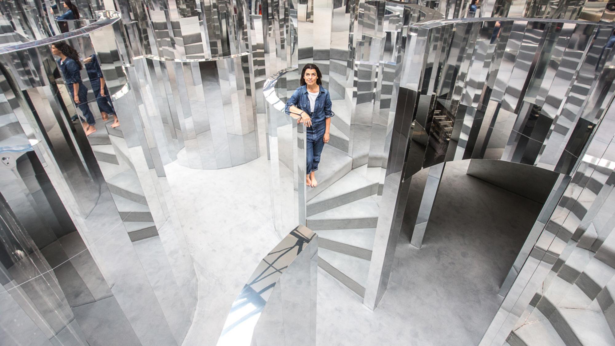 The Mirror Maze at Chanel's Fifth Sense Exhibition / Photo: i-d.vice.com