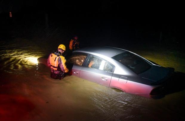 Rescue efforts in Puerto Rico / Photo:Carlos Giusti/AP