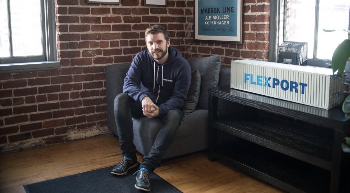 Flexport founder and CEO Ryan Petersen / Photo: victoriasmithphoto.com
