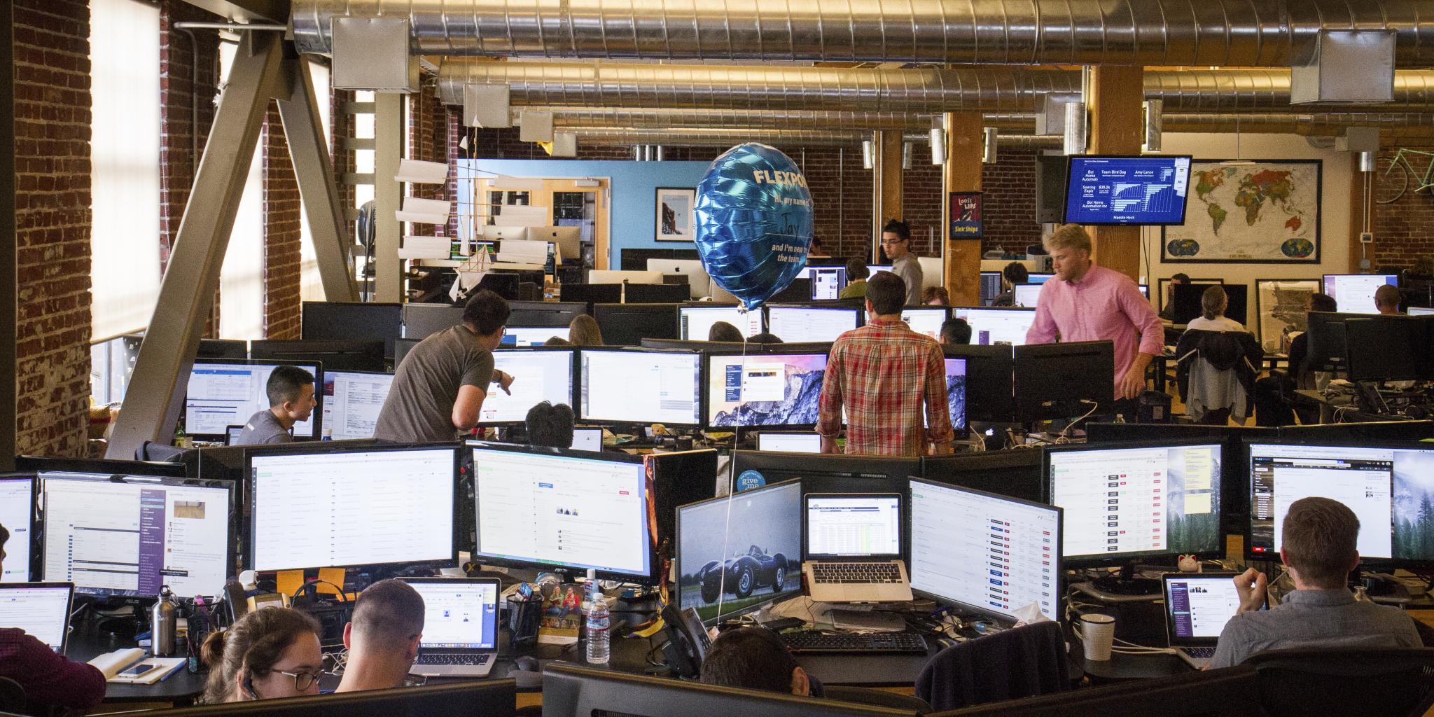 Flexport's Dutch-based European headquarters