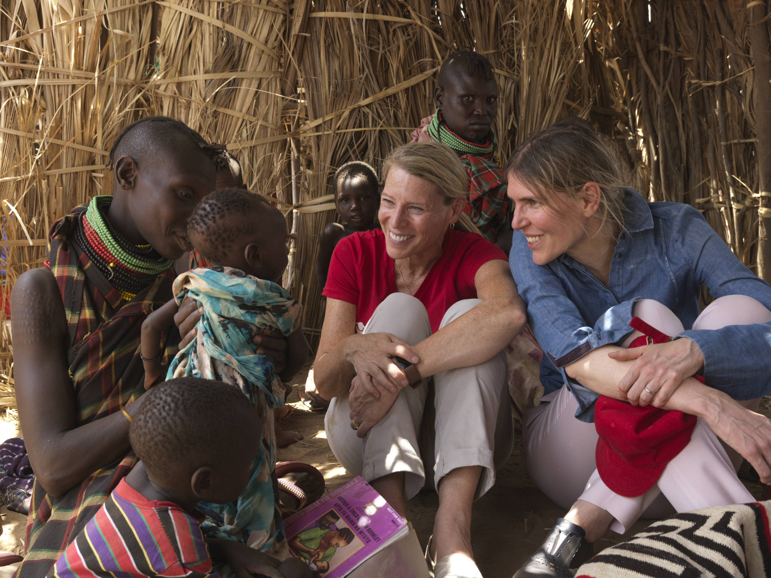 Gabriela Hearst visits Turkana County in Kenya with Save the Children