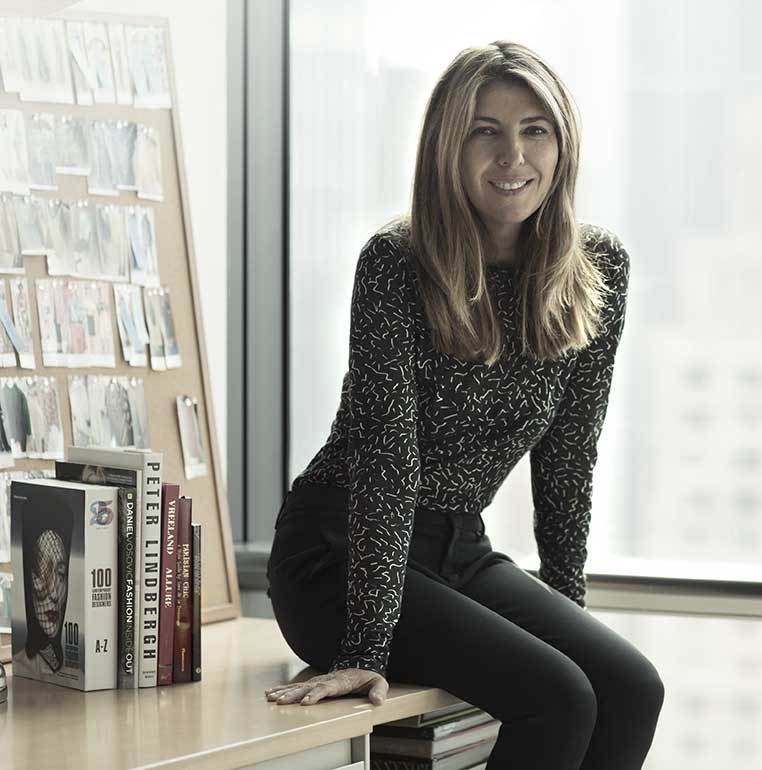 Elle magazine's new Editor-in-Chief Nina Garcia / Photo: atelierdore.com