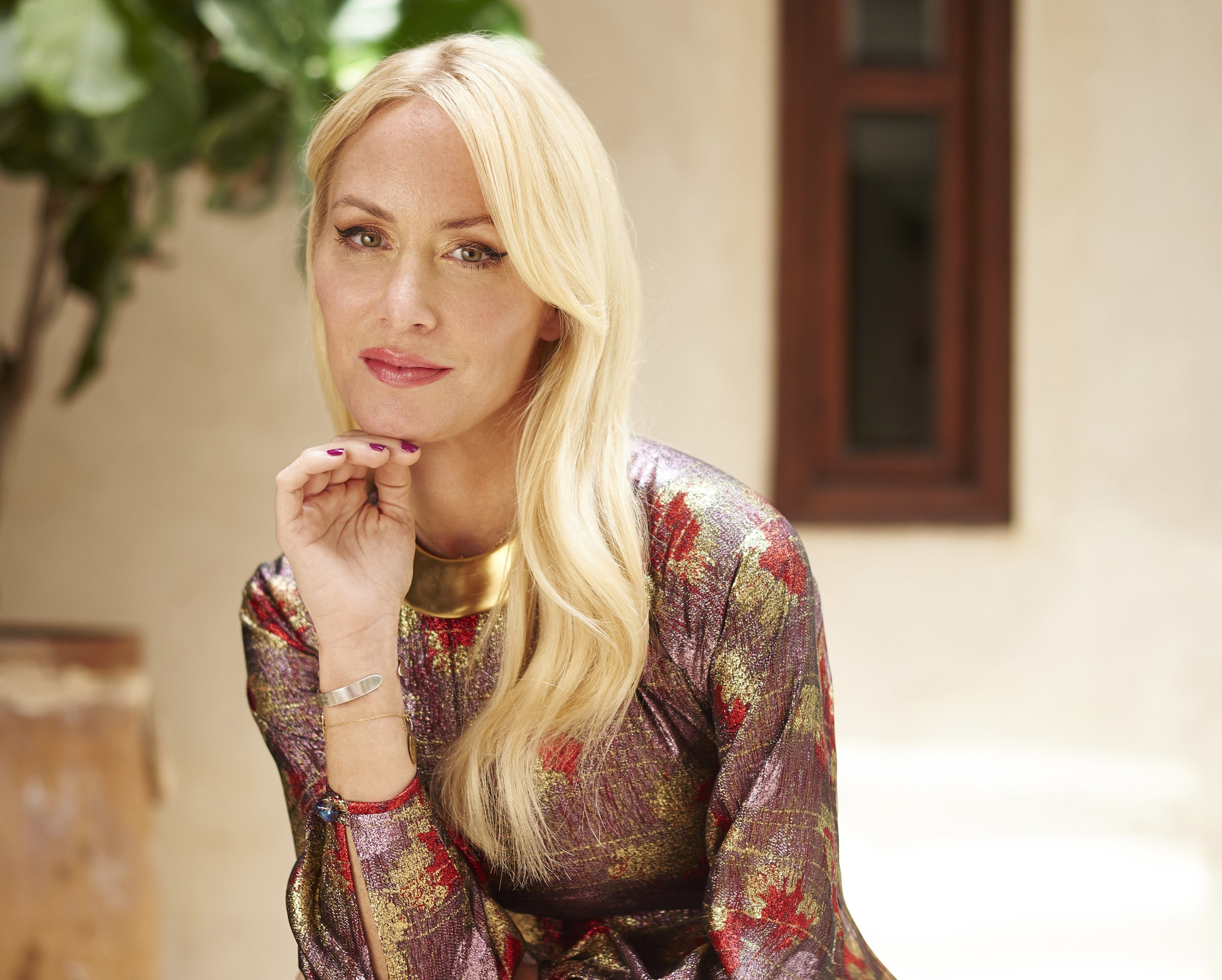 Amy Christiansen Si-Ahmed, founder of Sana Jardin, the world's first socially conscious luxury fragrance house.