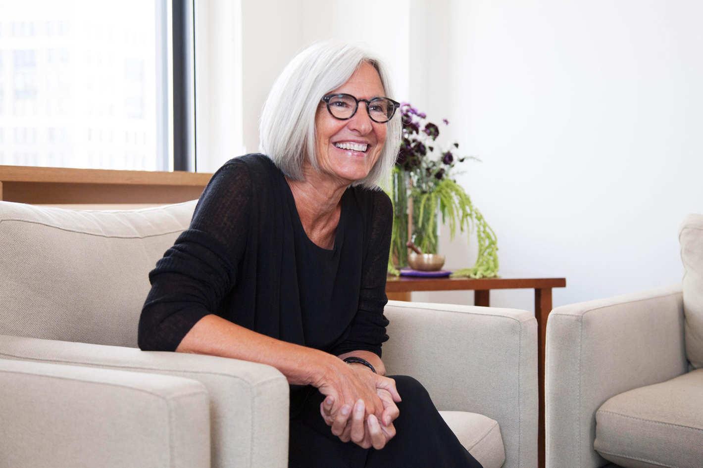 Founder and designer Eileen Fisher.