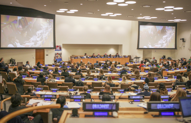 The Artisan Leadership Summit at the United Nations.
