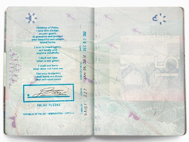 palau passport pledge