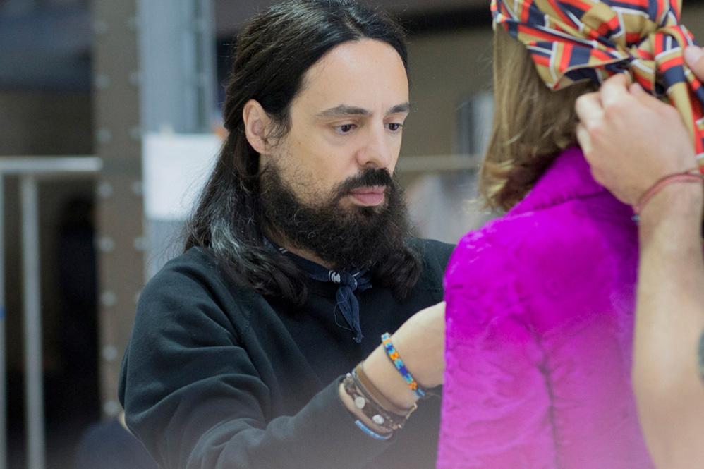 Alessandro Michele, creative director of Gucci.