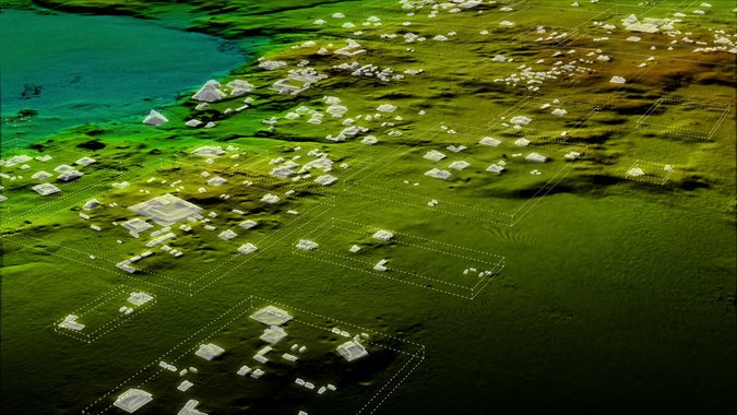 Lidar data highlighted about 60,000 structures that had been hidden in the jungle for hundreds of years / Photo: Wild Blue Media/National Geographic