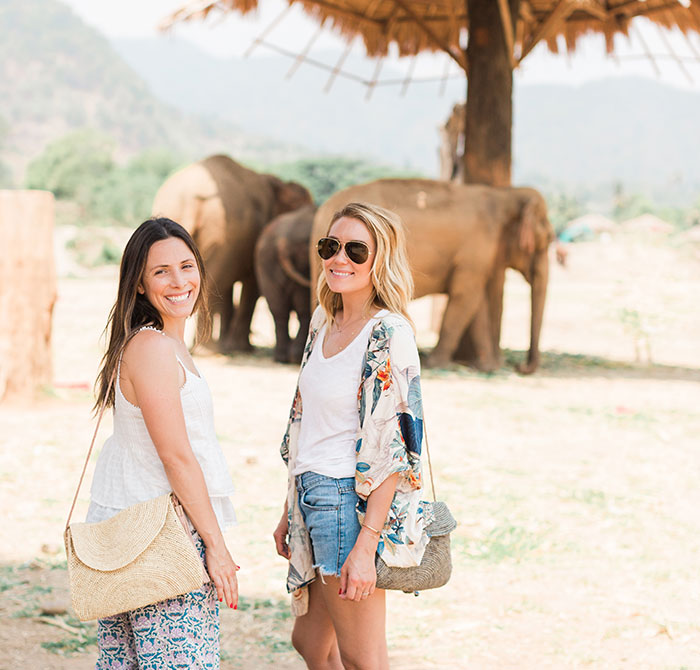 Co-founders Hanna Skvarla and Lauren Conrad / Photo: Valorie Darling
