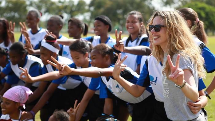Team-building in San Pedro de Macorís, Dominican Republic.