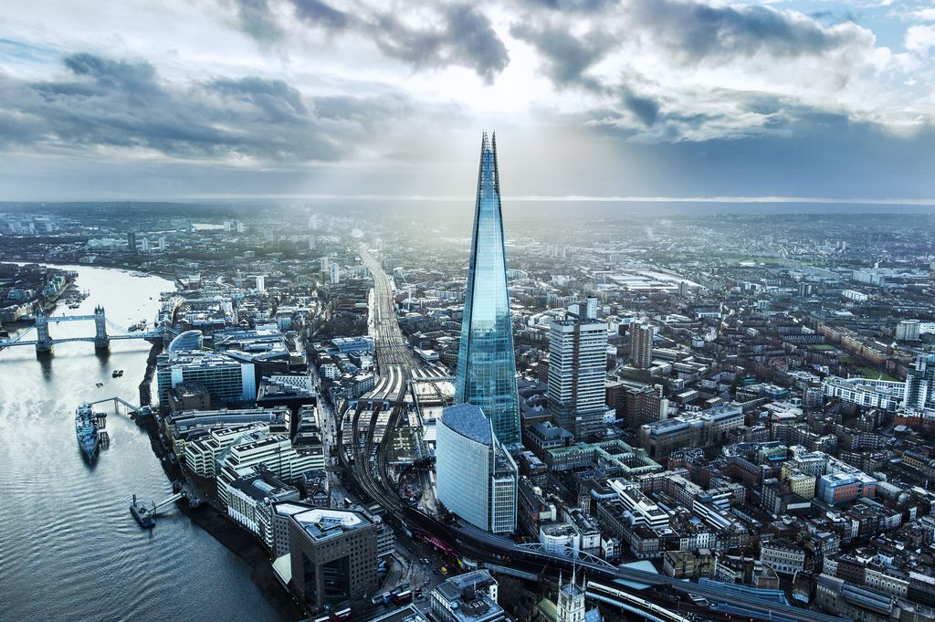 The Shard, London, by Renzo Piano