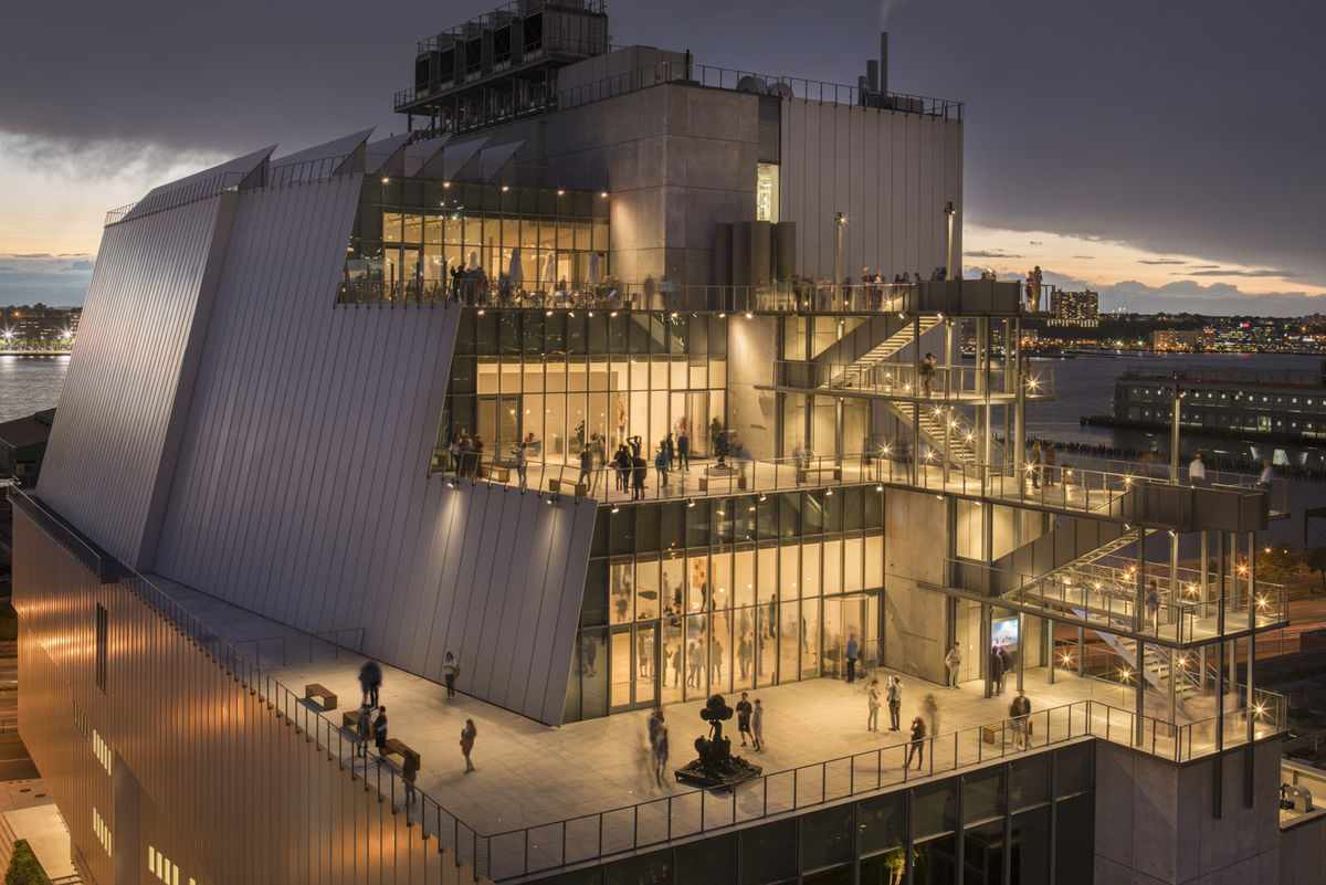 The Whitney Museum of American Art, NYC, by Renzo Piano