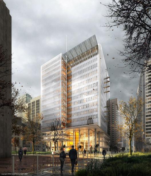 Toronto Courthouse, Canada, by Renzo Piano