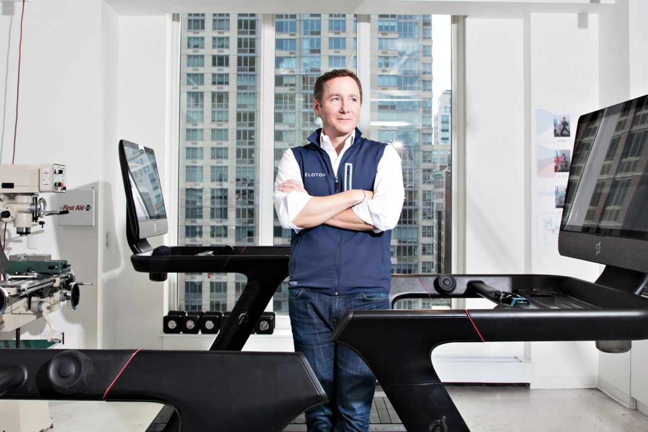 Peloton Founder & CEO John Foley / Photo: Floto + Warner