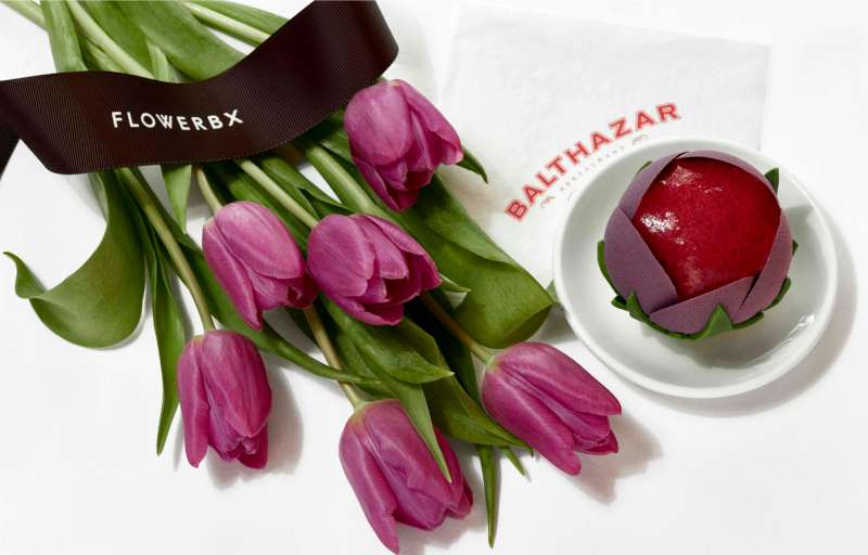 Balthazar x Flowerbx Afternoon Tea
