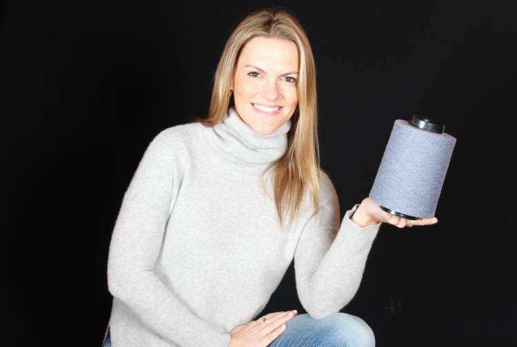 Founder and CEO of Osom Brand & OSOMTEX®, Patricia Ermecheo.