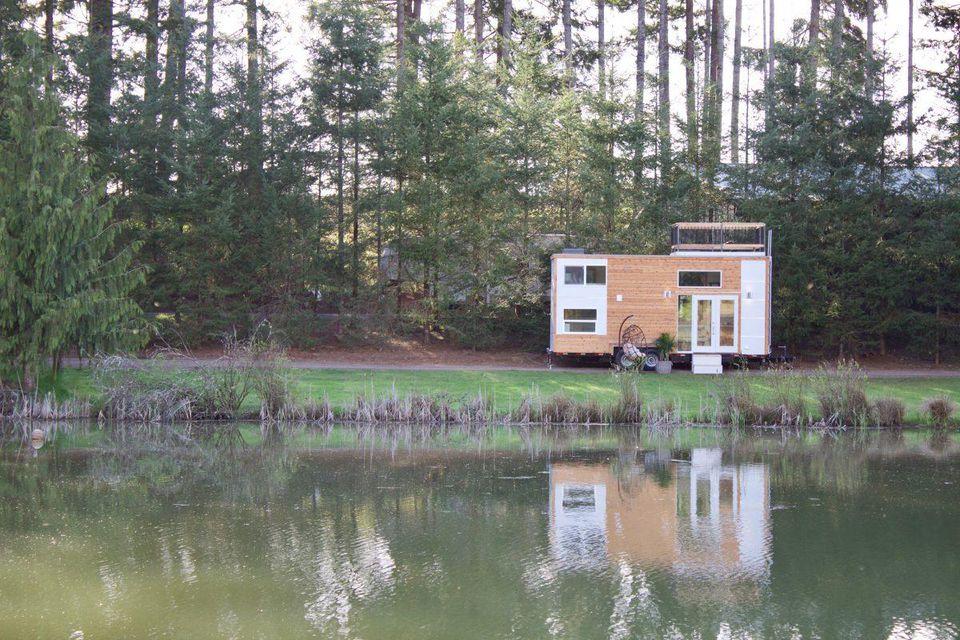 Osom Brand's off-grid, eco-friendly HQ in Oregon.