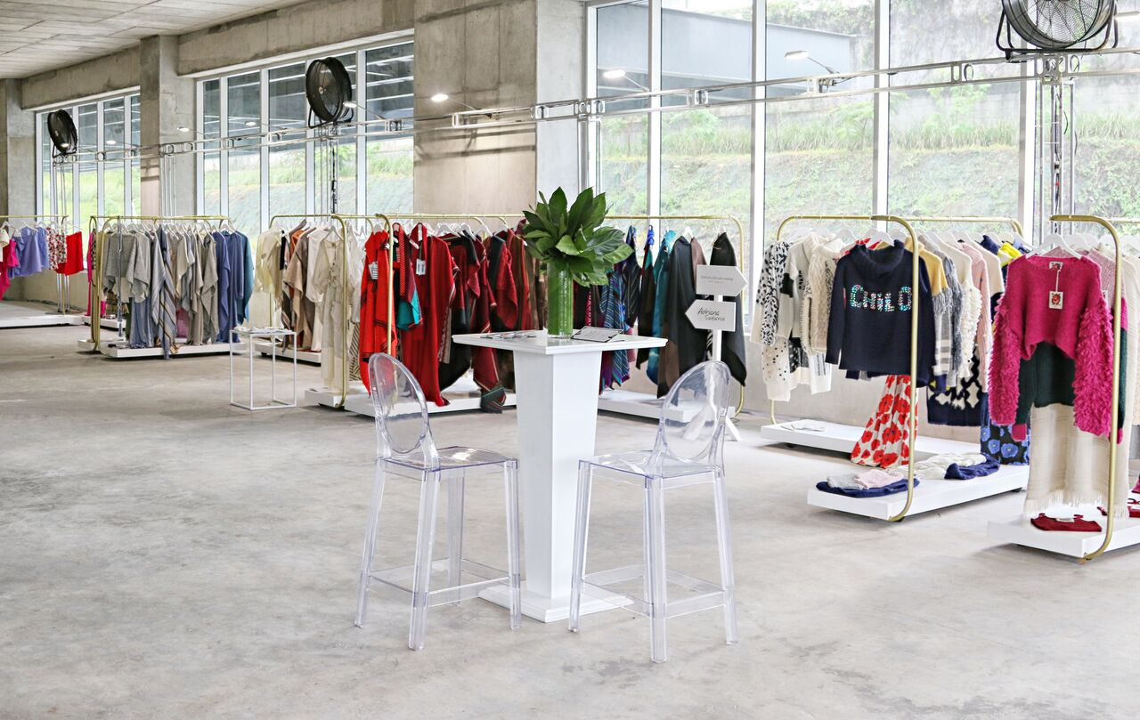 The Seed x Cooperativa pop-up showroom in San Jose, Costa Rica / Photo: Ale Fomina.