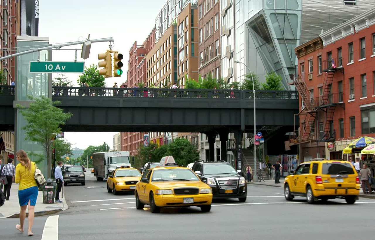 The award-winning High Line in Chelsea.