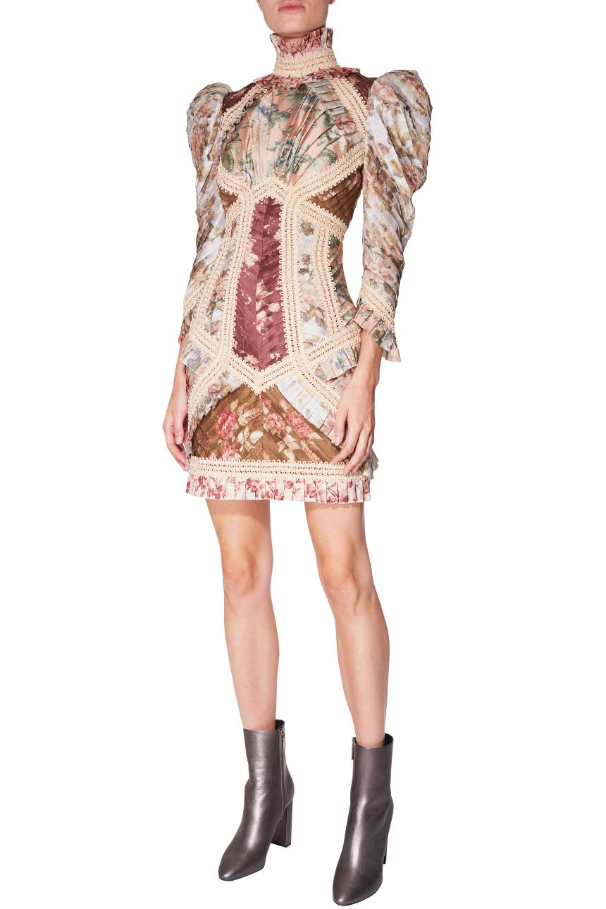 ZIMMERMAN  Fleeting Braided Dress  Rental Price £500