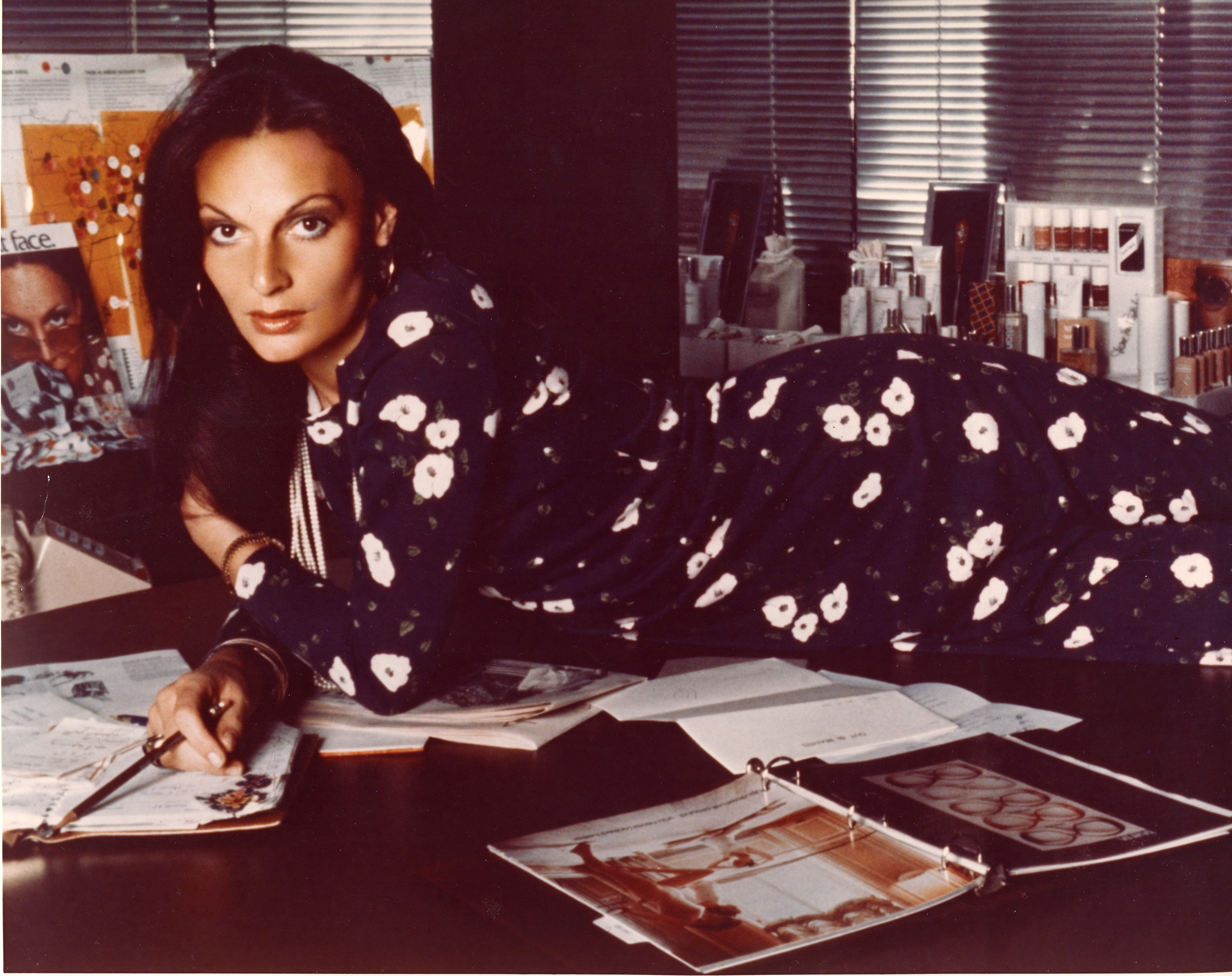 Diane in the Seventies. Photo: Ara Gallant (1976)