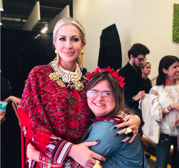 With Isabella Springmuhl Tejada, a leading Guatemalan designer with Downs Syndrome - and an inspiring story.