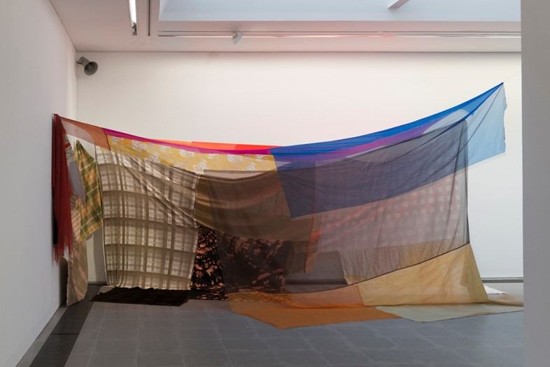 Eric N. Mack, Capital Heights (via stretch) 2019, Grace Wales Bonner: A Time for New Dreams. (Installation view, 18 January – 16 February 2019, Serpentine Galleries). © 2019 readsreads.info