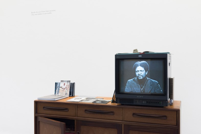 """A video of Ishmael Reed, part of """"A Time for New Dreams."""" Serpentine Galleries, © 2019 readsreads.info"""