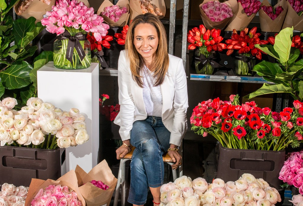 FLOWERBX co-founder Whitney Bromberg Hawkings / Photo: Alexander Coggin for The New York Times.