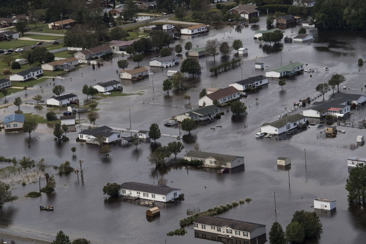 Flooding caused by Hurricane Florence in Lumberton, North Carolina / Photo: adn.com