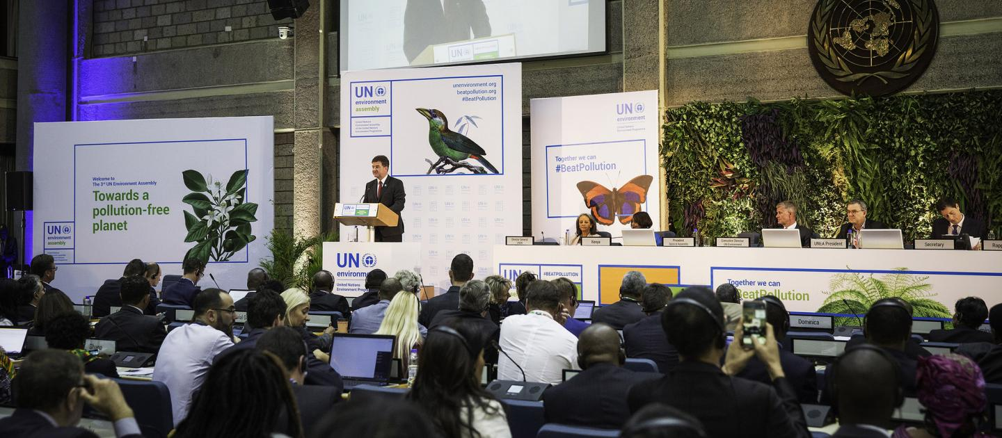 The UN Environment Assembly was held last week in Nairobi.