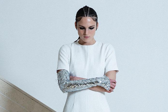 Mercury's Moon Collection by Kuwait's Amna Al Salem, a Ready-to-Wear finalist.