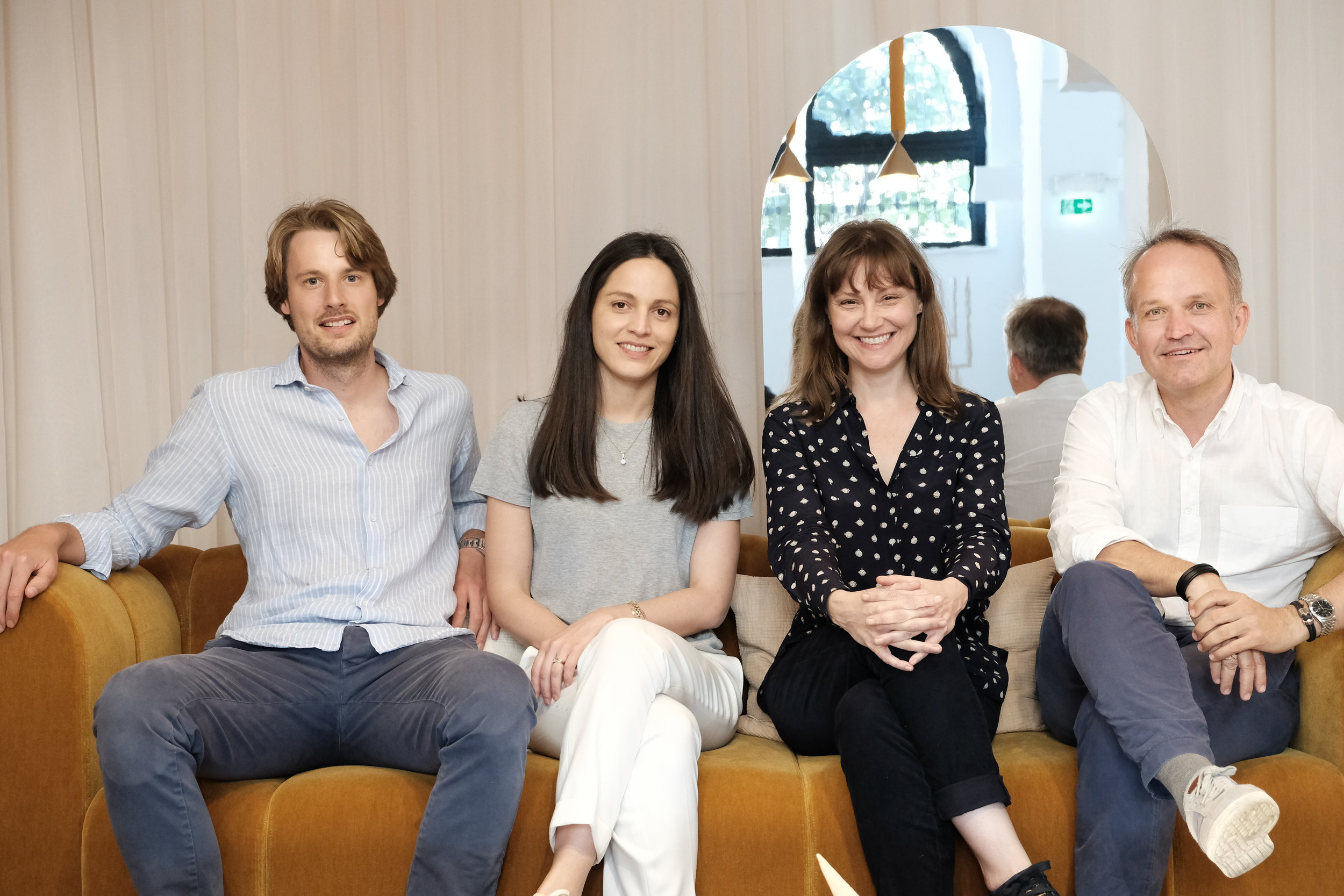 The Pamono Team: Christian Ahrendt, Letizia Luperini, Wava Carpenter and Oliver Weyergraf / Photo: Manuel Coen.