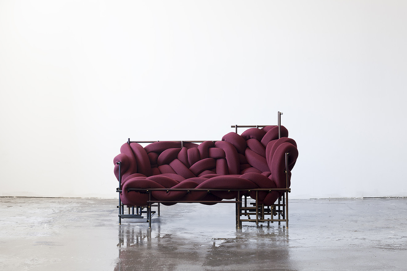 Lawless Sofa by Evan Fay, 2017.
