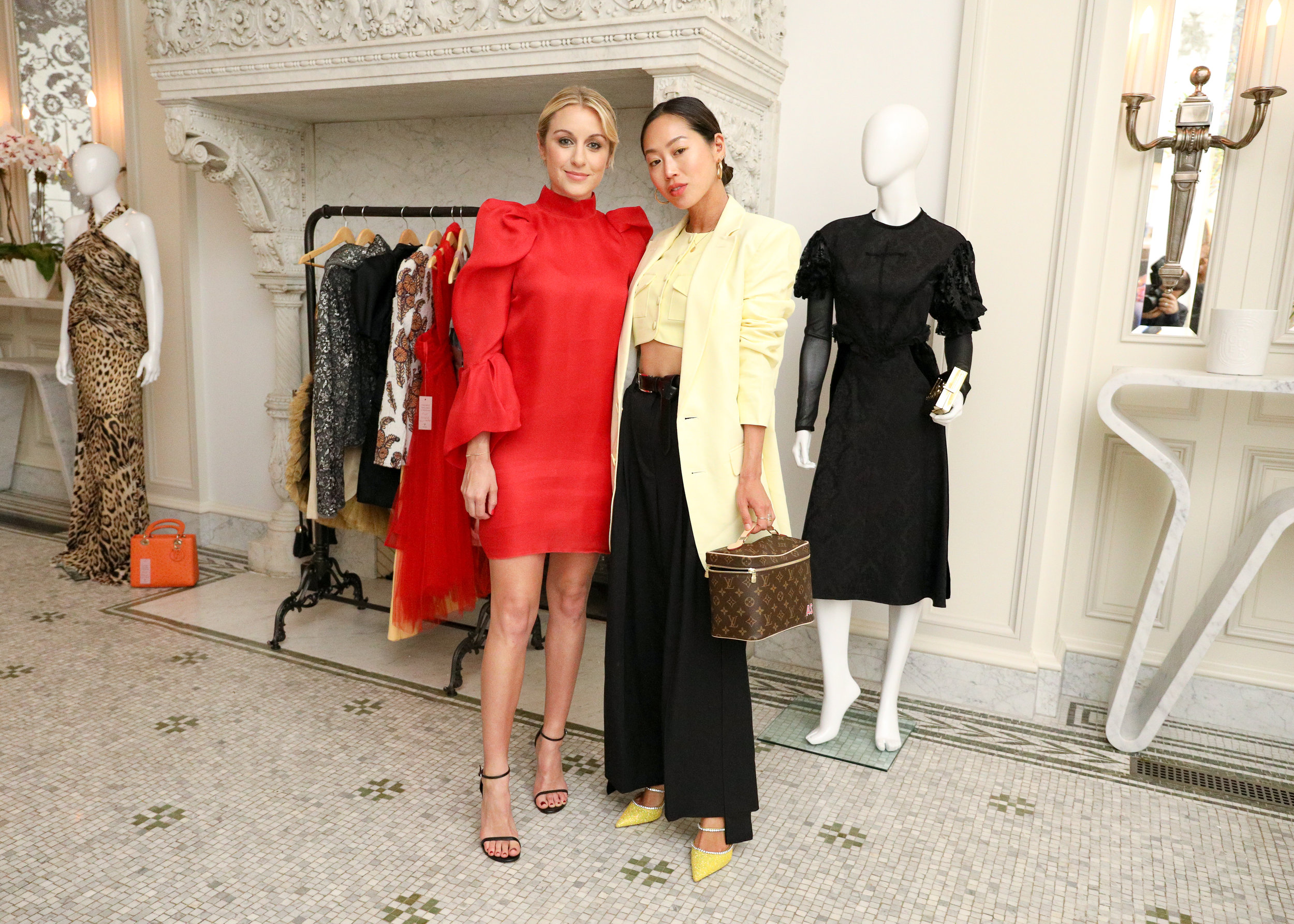 Alise Collective founder Dria Murphy and influencer Aimee Song.