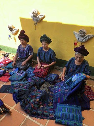 Artisans in Guatemala