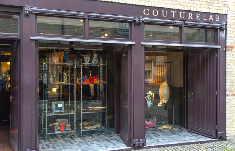 CoutureLab was both a physical store in London's Belgravia, as well as a platform that supported emerging designers, artisans and global craftsmanship.