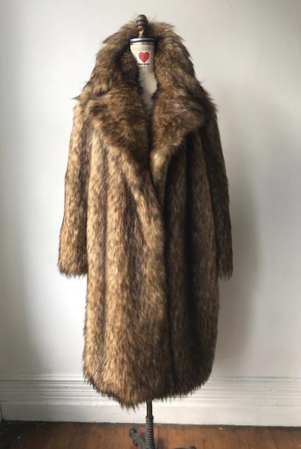 House Of Fluff Rocketman Fur Coat