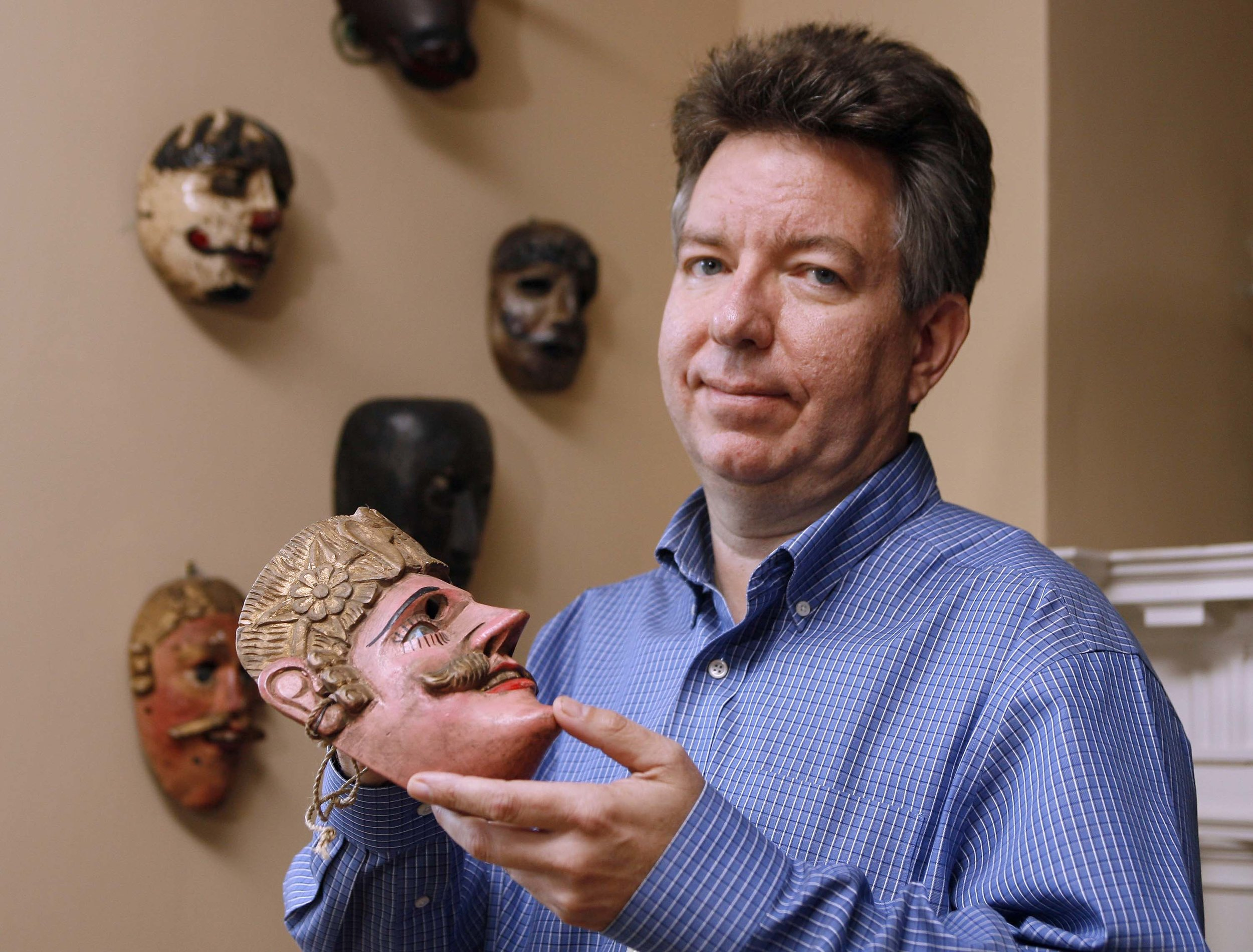 Brown University's Stephen D. Houston, the foremost figure within the Maya archaeology community. Photo: macfound.org