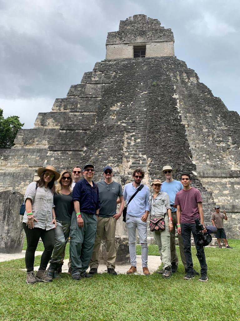 The group in Tikal, the greatest ancient Maya city ever built.