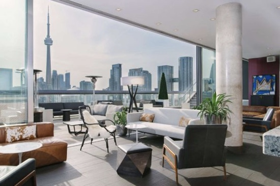 The hotel will boast views of the downtown Toronto skyline and Lake Ontario.