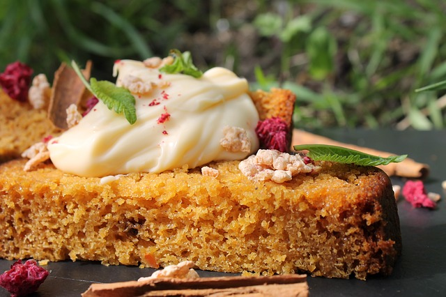 Healthy Gluten-Free Protein Carrot Cake Recipe Glamour and Gains by Eve