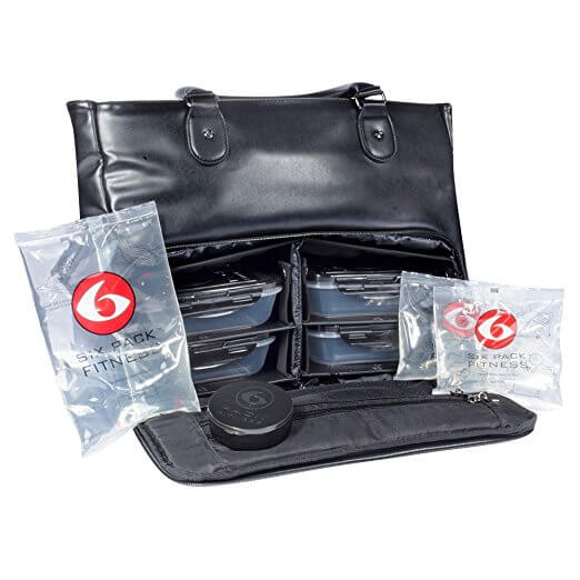 Six Pack Fitness Bags mean no more risking food poisoning!