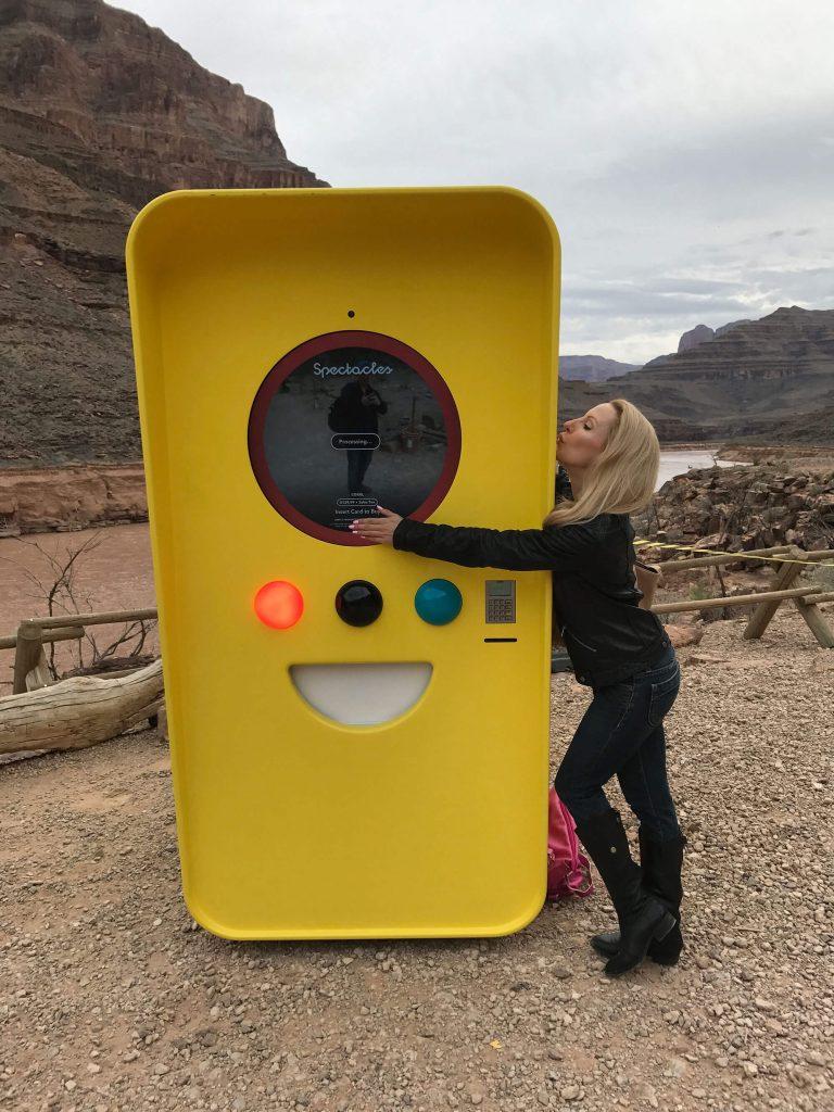 Snapchat Spectacle Snapbot blogger Eve Dawes